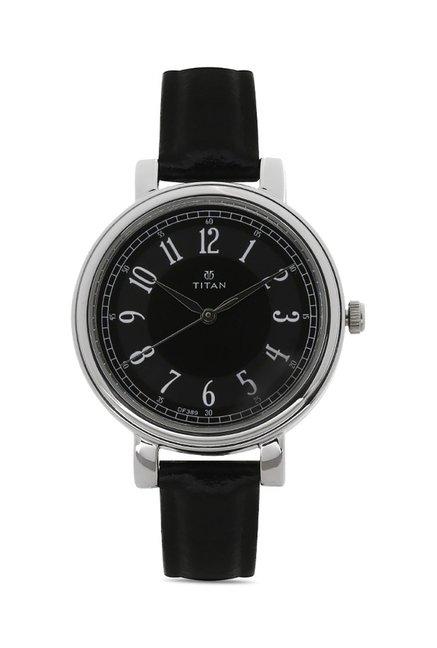 Titan 2554SL02C Work Wear Analog Watch for Women