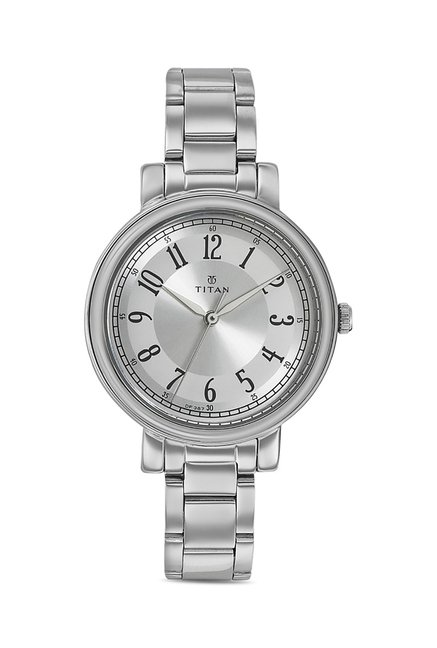 Titan 2554SM01C Work Wear Analog Watch for Women