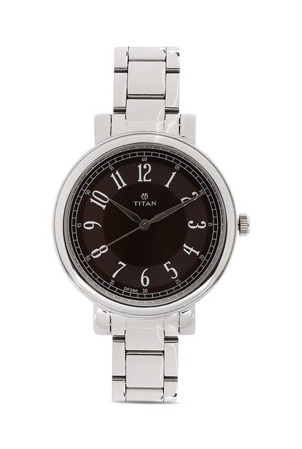 Titan 2554SM02C Work Wear Analog Watch for Women