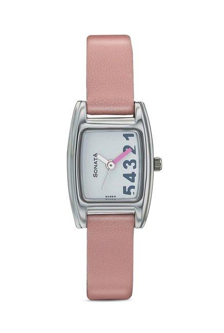 Sonata 8014SL07 Yuva Analog Watch for Women