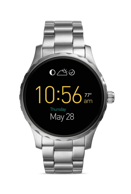 Buy Fossil FTW2109 Q Marshal Smart Watch for Men Online At Tata CLiQ 9eac41d0d89e