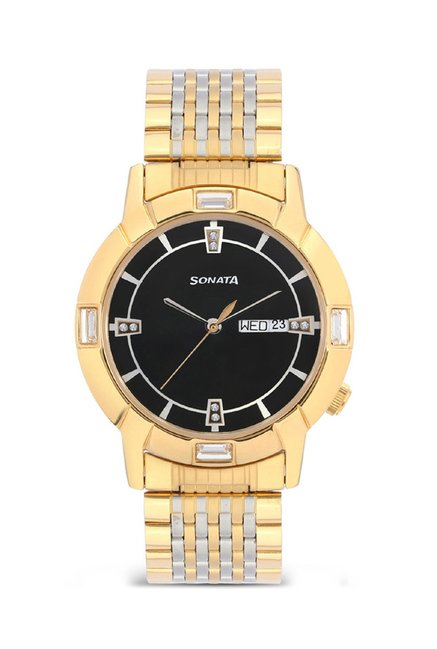 Sonata 7116BM01 Glamors Analog Watch for Men