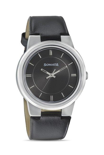 Buy Sonata 7121sl01 Elite Ii Analog Watch For Men At Best