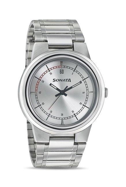 Sonata 7121SM01 Elite II Analog Watch for Men