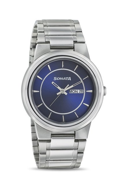 Sonata 7121SM02 Elite II Analog Watch for Men