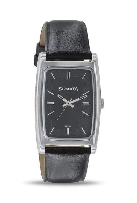 Sonata 7122SL02 Elite II Analog Watch for Men