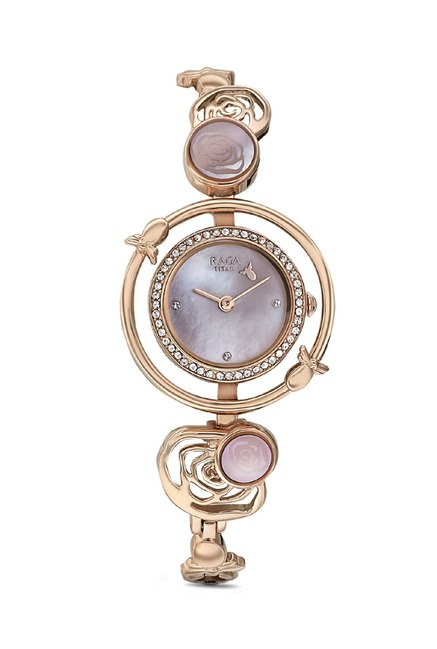 Titan 95047WM01J Raga Aurora Analog Watch for Women
