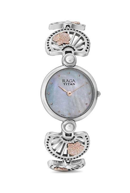Titan 2567KM01 Raga Aurora Analog Watch for Women