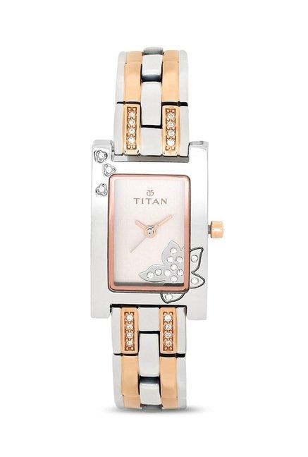 Titan 9716KM01E Analog Watch for Women