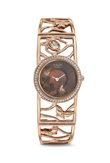 Titan 95045WM01J Raga Aurora Analog Watch for Women