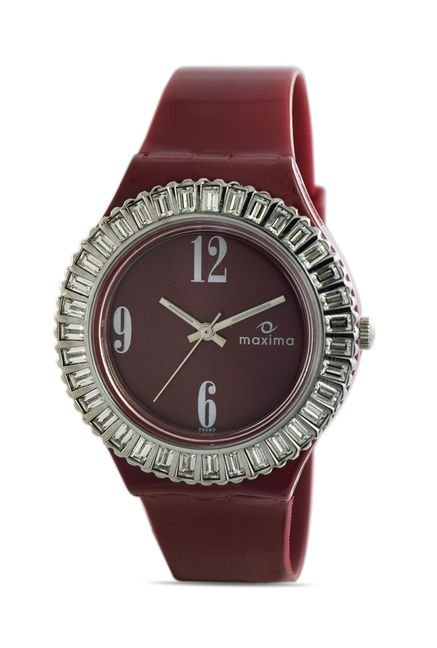 Maxima 29293PPLN Attivo Steel Analog Watch for Women