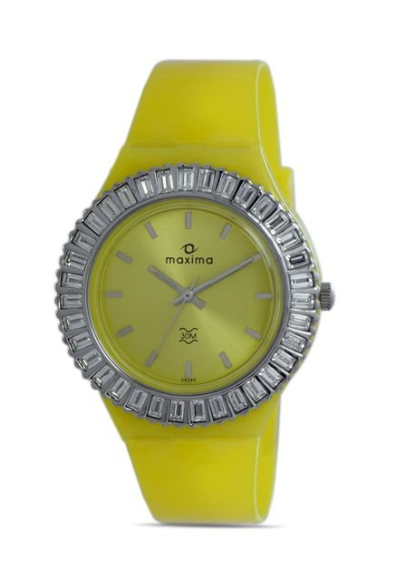 Maxima 29295PPLN Attivo Steel Analog Watch for Women