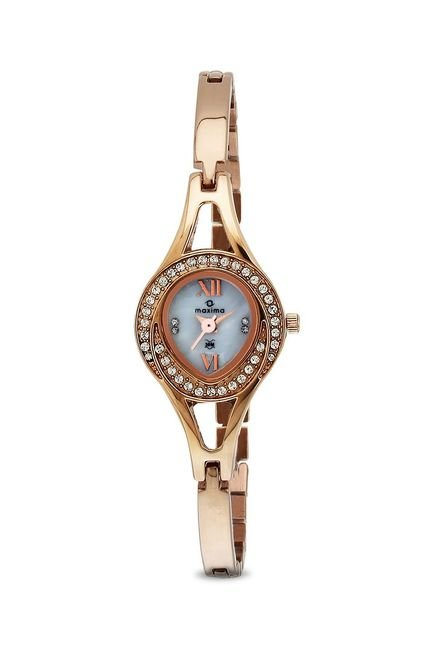 Maxima 32281BMLR Attivo Steel Analog Watch for Women