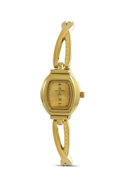 Maxima 07193BMLY Formal Gold Analog Watch for Women