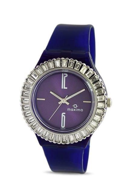 Maxima 29296PPLN Attivo Steel Analog Watch for Women