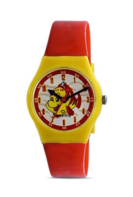 Maxima 04430PPKW Fiber Analog Kid's Watch (04430PPKW)