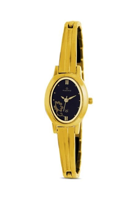 Maxima 39910BMLY Formal Gold Analog Watch for Women