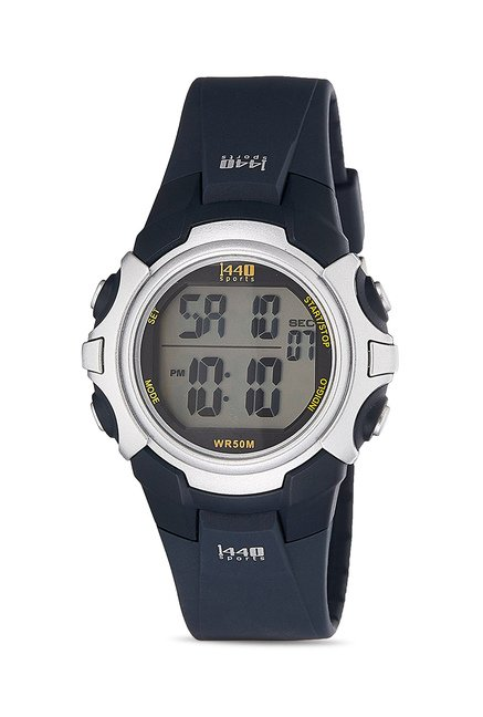 buy timex t5j5716s 1440 sports digital watch for men for men at best rh tatacliq com Timex Watches Timex Indiglo Instruction Manual