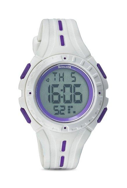 Sonata 8977PP01 Super Fibre Ocean Series Watch for Women