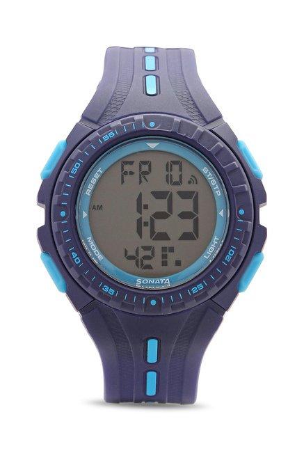 Sonata 8977PP02 Super Fibre Ocean Series Watch for Women