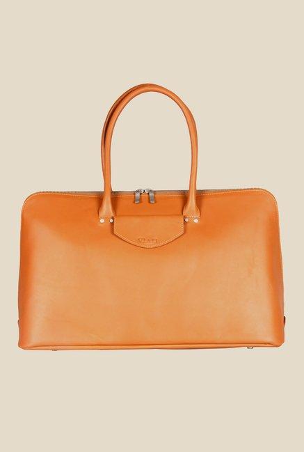 Viari Soho Tan Leather Handbag