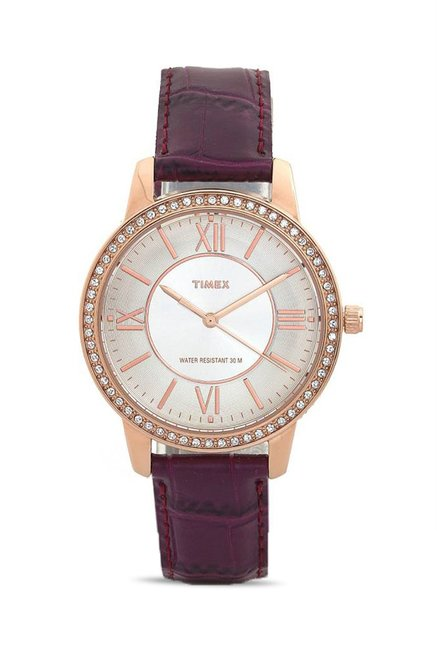 Timex TW000Y802 Fashion Analog Watch for Women