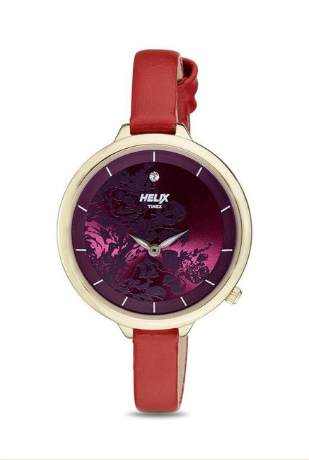 Timex TW0HL131H Helix Analog Watch for Women