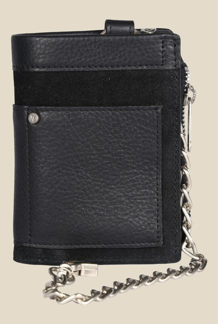 Viari El Paso Black Leather Wallet