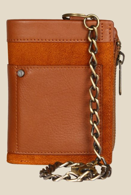Viari El Paso Tan Leather Wallet