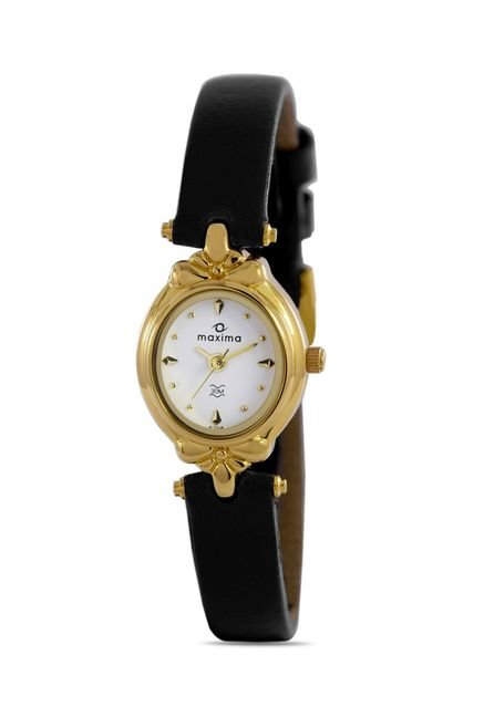 Maxima 05708LMLY Formal Gold Analog Watch for Women