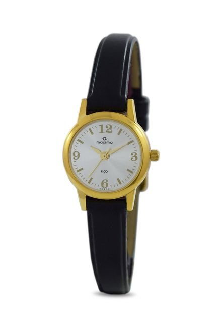 Maxima 32202LMLY Formal Gold Analog Watch for Women