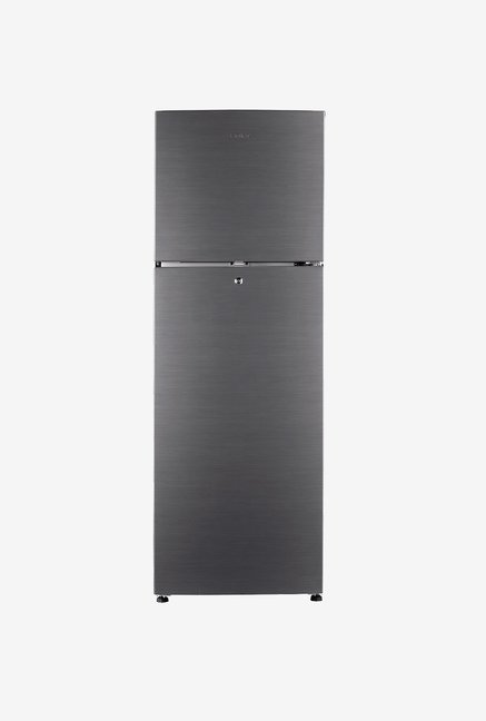 Haier HRF-2674BS-R 247 L 3S Double Door Refrigerator(Silver)