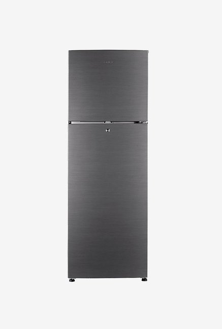 Haier HRF-2904BS-R 270 L 3S Double Door Refrigerator(Silver)