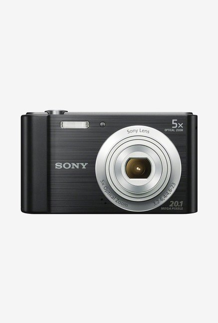 6db7c5b4dff Sony Cyber shot DSC W800 20.1MP Point Shoot Camera Black available at  TatacliQ for Rs