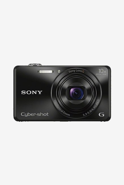 Sony Cyber-shot DSC-WX220 Point & Shoot Camera (Black)