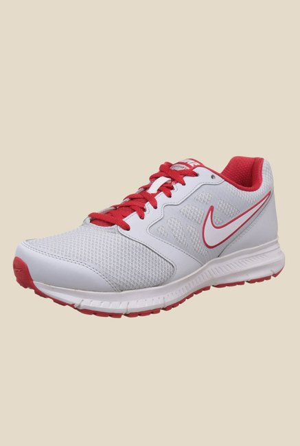 e85a6f0167d Buy Nike Down-Shifter White   University Red Running Shoes for ...
