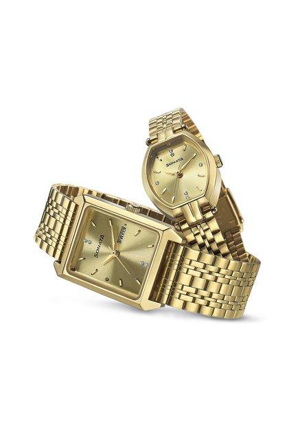 Sonata 70078083YM02 Analog Watch