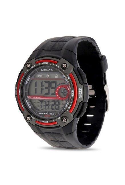buy sonata nh7949pp01j super fibre digital watch for men at best rh tatacliq com