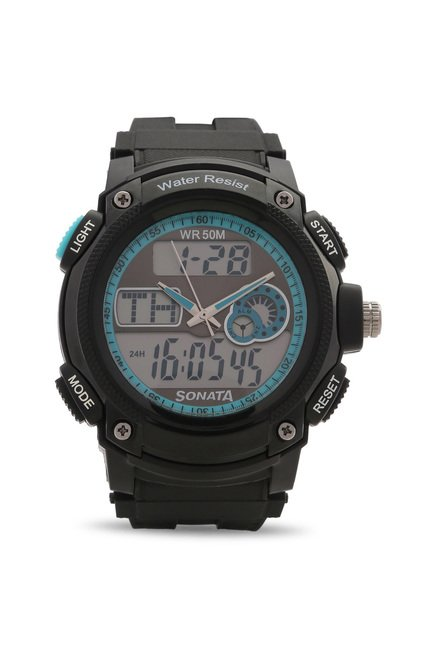 Sonata NH7989PP01J Ocean Analog-Digital Watch