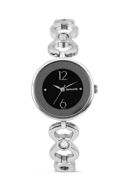 Sonata 8136SM01C Glamors Analog Watch for Women