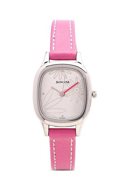 Sonata NG8060SL01C Yuva Analog Watch for Women