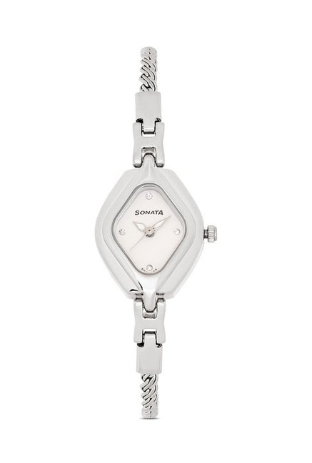 Sonata 87010SM02CJ Wedding Analog Watch for Women