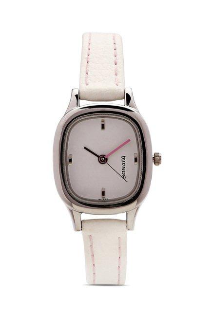 Sonata NG8060SL02C Yuva Analog Watch for Women