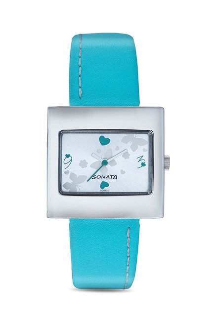 Sonata Analog Multi Color Dial Women's Watch, 8965SL01