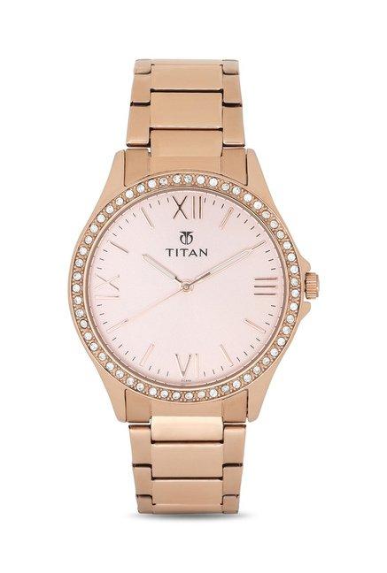 Titan NF9955WM01C Analog Watch for Women