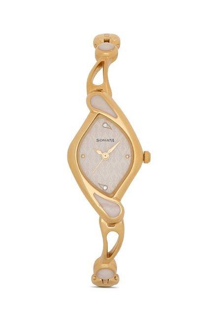 Sonata NG8073YM01C Sona Sitara Analog Watch for Women