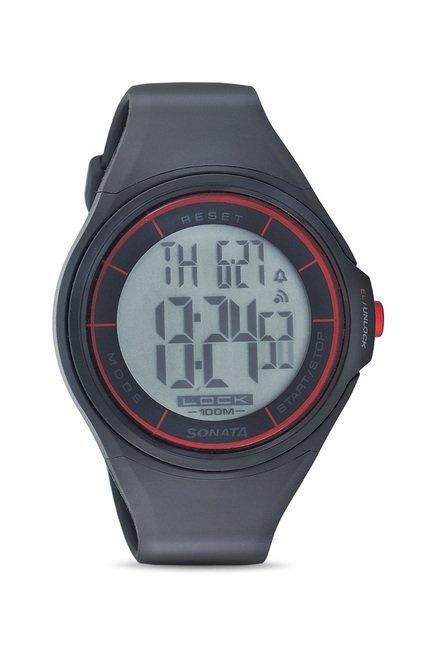 buy sonata nh7992pp01j super fibre ocean digital watch for men at rh tatacliq com