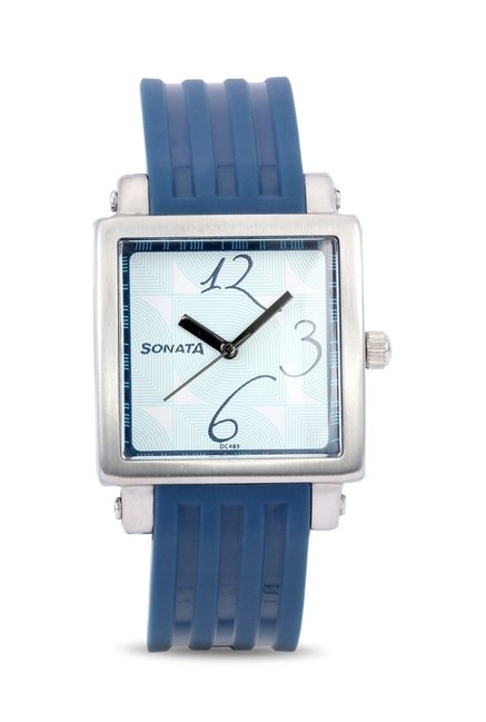 Sonata NH8990PP02CJ Fashion Fibre Analog Watch for Women