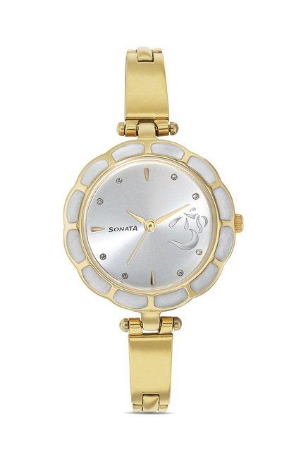 Sonata 8120YM01C Utsav Analog Watch for Women