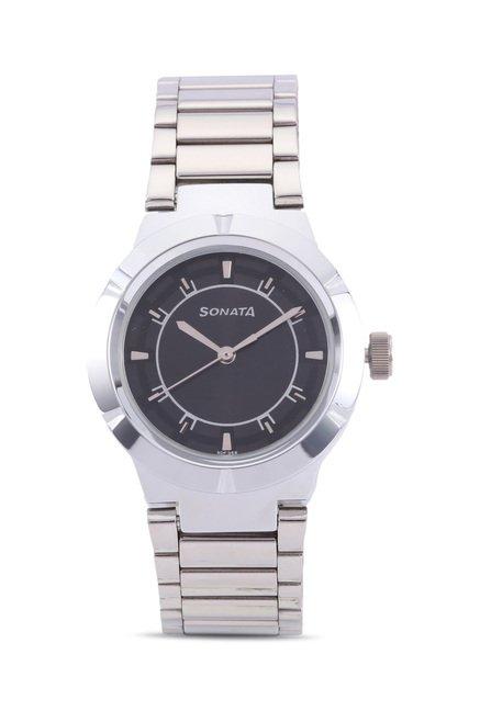 Sonata 8138SM01C Professional Analog Watch for Women